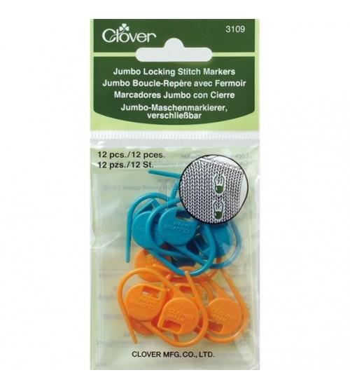 clover 3109 Jumbo Locking stitch markers