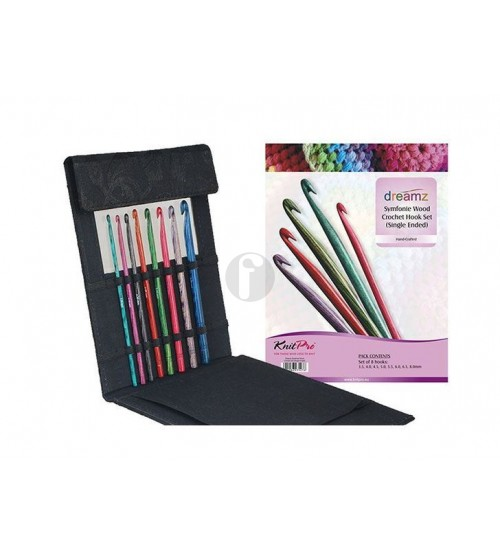 knitpro  Dreamz symfonie crochet hook set uitverkoop