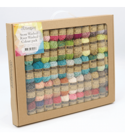 stone washed/ river washed colour pack Rainboom