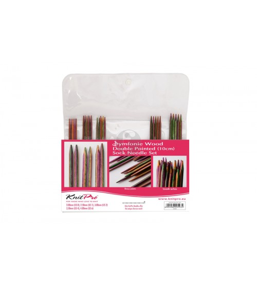 Knitpro DPN set 10 cm