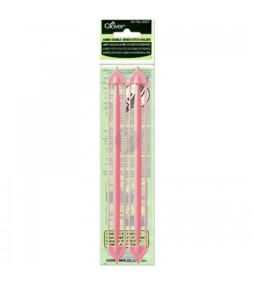clover 3007 Jumbo Double-ended stitch holder