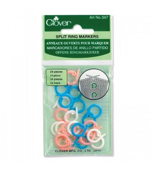 clover 347 Split ring markers
