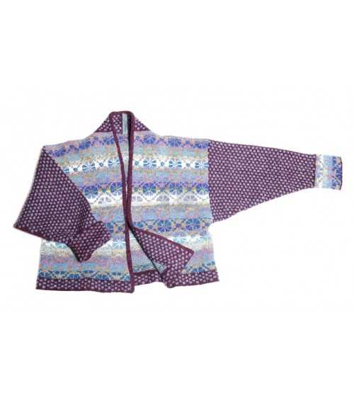 Folklore jacket Blue  Christel Seyfarth