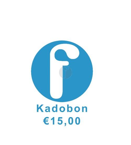 Kadobon €15.00