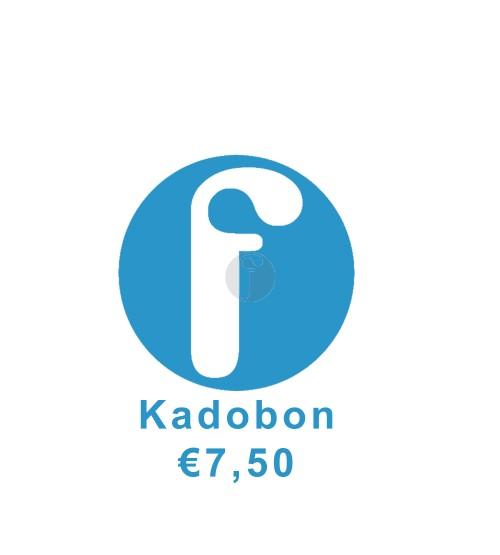 Kadobon €7.50