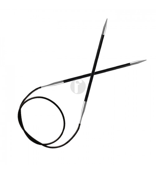 Knitpro Karbonz 3.25 mm rondbreinaald