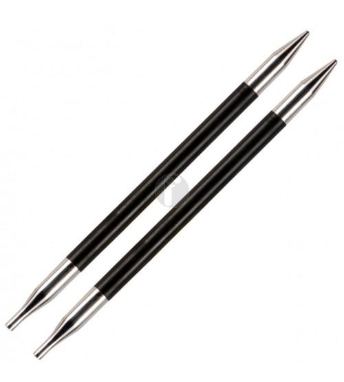 Knitpro 4.5 MM verwisselbare naaldpunten Karbonz