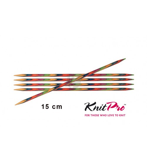 Knitpro symfonie 2.75 mm sokkennaalden 15 cm