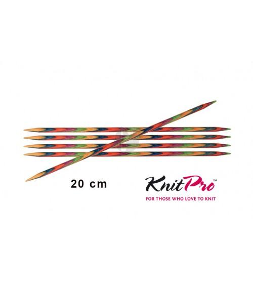 Knitpro symfonie 4.50 mm sokkennaalden 20 cm