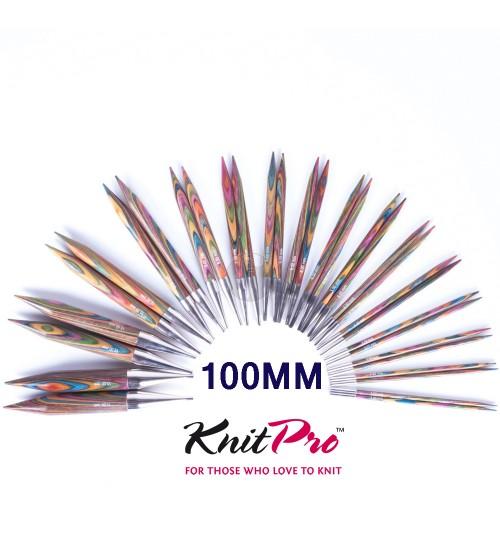 Knitpro Kort 5.0 MM verwisselbare naaldpunten Symfony wood