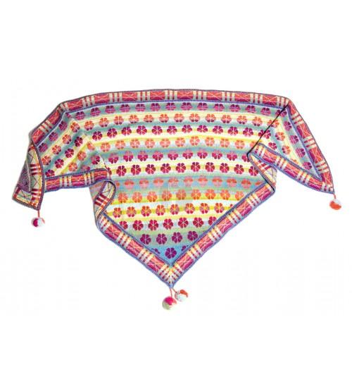 malthese shawl pastels christel Seyfarth