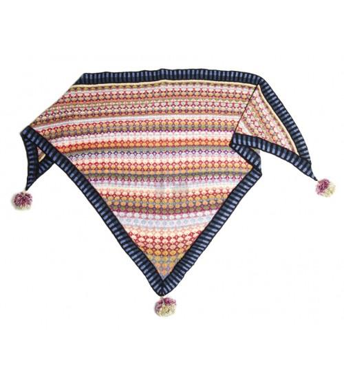 Mongolia shawl- Christel Seyfarth