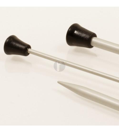 Drops rechte naald 2.5 aluminium