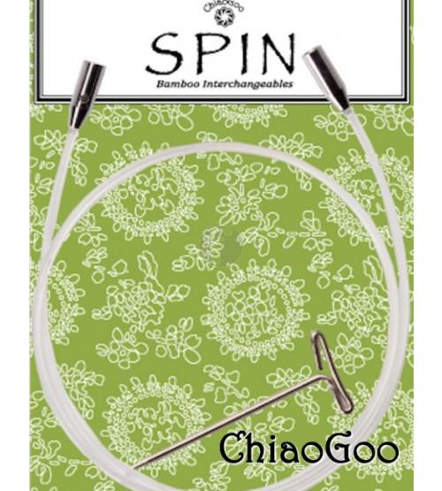 ChiaoGoo kabel 55 cm (75-81cm met naalden)