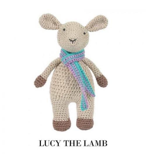 Lucy the lamb haken - Tuva Scheepjes haakpakket