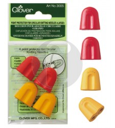 clover 3005 point protectors for circular needles large