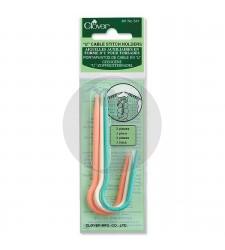 "clover 341 Cable stitch holder ""U"""