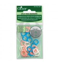 clover 347 Split ring markers