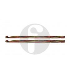 Knitpro 8.0 mm symfonie hout haaknaald enkelzijdig