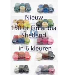 Shetland Finlandia pakket 150 gr