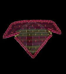 quadrant shawl pink Chistel Seyfarth