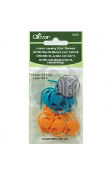clover 3109 Jumbo Locking stitch markers