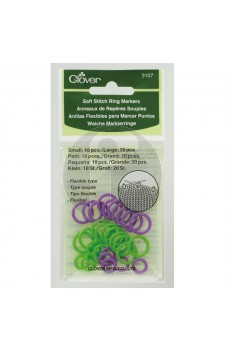 clover 3107 Soft stitch ring markers