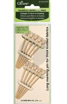 clover 3143  bamboo marking pins