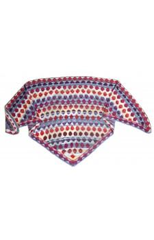 Bon Bon shawl blue