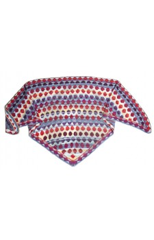 Bonbon sjaal blauw Christel Seyfarth Aktie