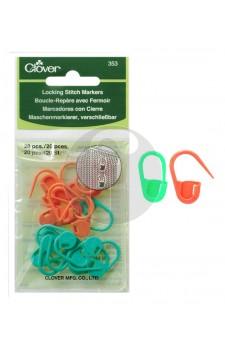 clover 353 Locking stitch markers