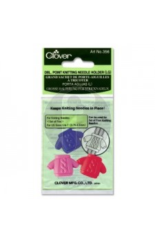clover 356 Double point knitting needle holders (l)