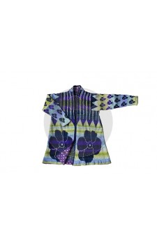 Coat Ikat- Christel Seyfarth