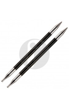 Knitpro 3 MM verwisselbare naaldpunten Karbonz