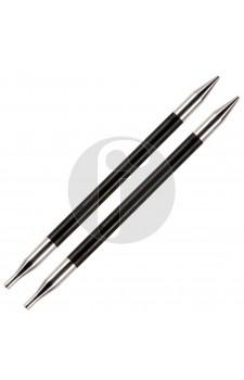 Knitpro 3.5 MM verwisselbare naaldpunten Karbonz