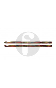 Knitpro 6.0 mm symfonie hout haaknaald  enkelzijdig
