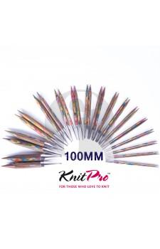 Knitpro Kort 4.5 MM verwisselbare naaldpunten Symfony wood