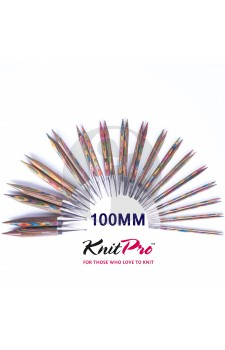 Knitpro Kort 6.0 MM verwisselbare naaldpunten Symfony wood