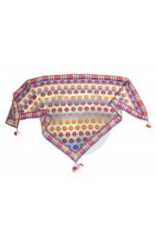 malthese shawl pastels christel Seyfarth Aktie