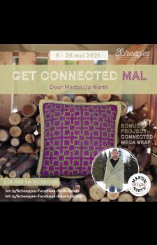 pakket Get Connected kussen- Martin Up North - Scheepjes MAL